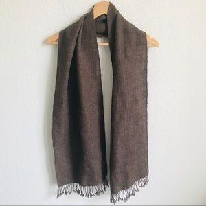 Vintage Alpaca/Wool Handmade In Bolivia Scarf